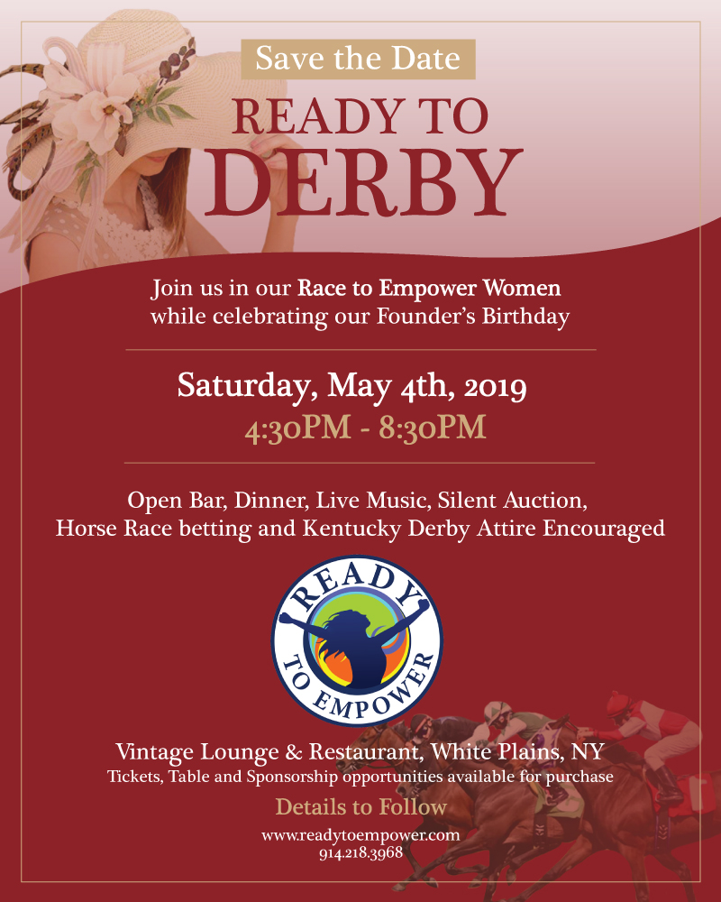Ready to Derby flyer